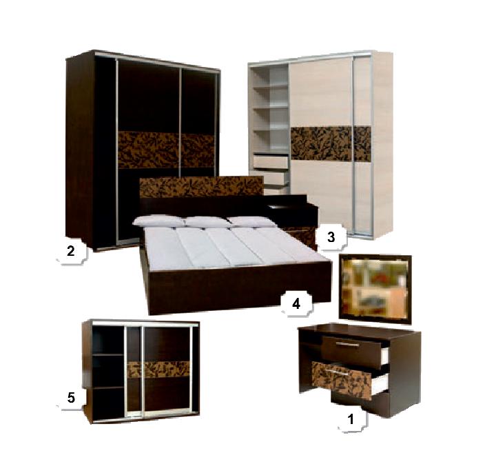 купить набор корпусной мебели для спальни в новозыбкове